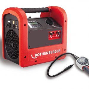 Recuperador + Detector de fugas Rothenberger