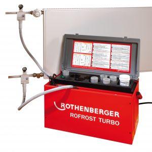Congelador de tuberias Rothenberger